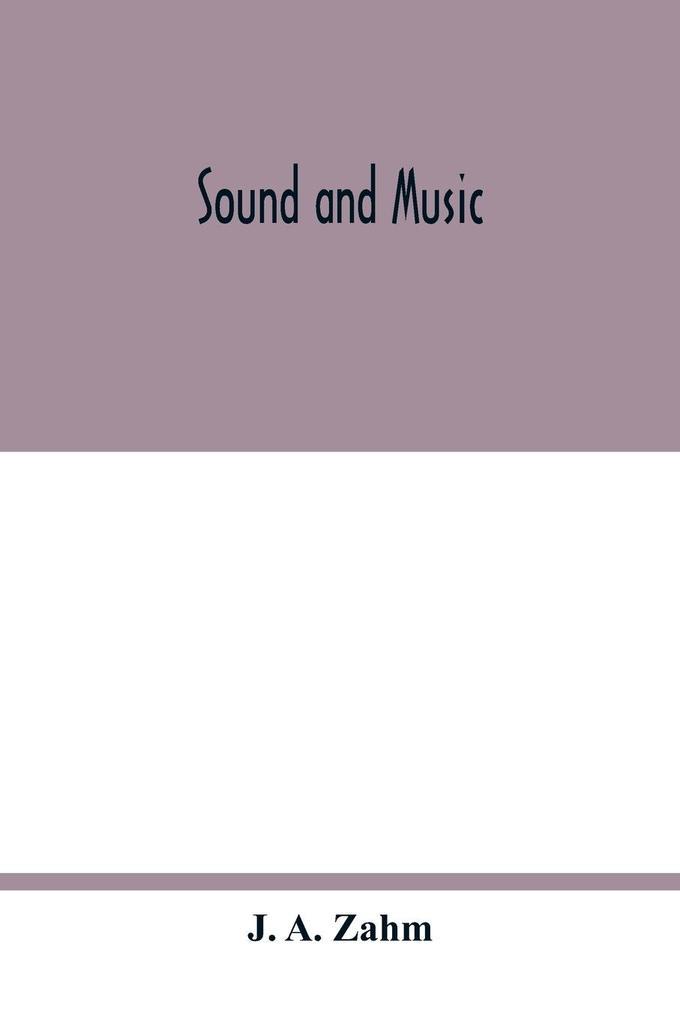 Sound and music als Taschenbuch