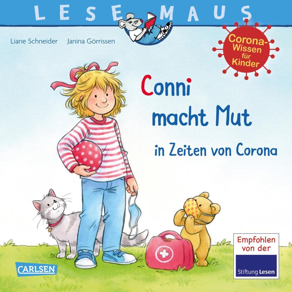 LESEMAUS 186: Conni macht Mut in Zeiten von Corona als eBook epub