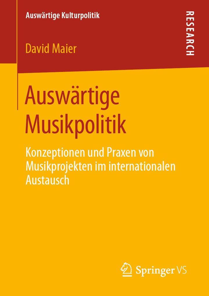 Auswärtige Musikpolitik als eBook pdf