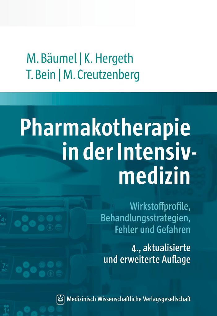 Pharmakotherapie in der Intensivmedizin als eBook epub