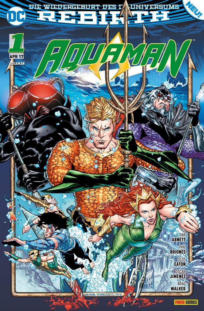 Aquaman, Band 1 (2. Serie) - Der Untergang als eBook epub