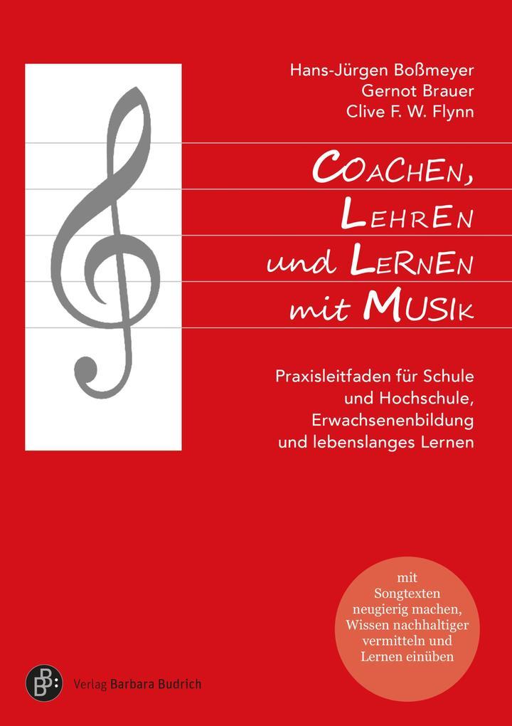 Coachen, Lehren und Lernen mit Musik als eBook pdf