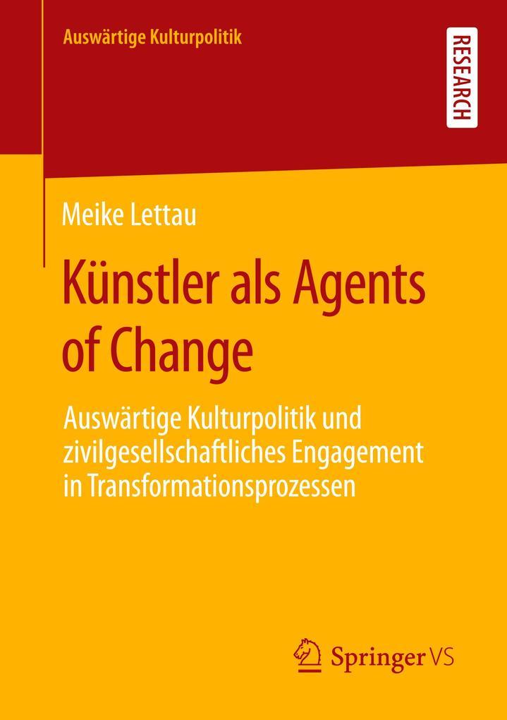 Künstler als Agents of Change als Buch (kartoniert)