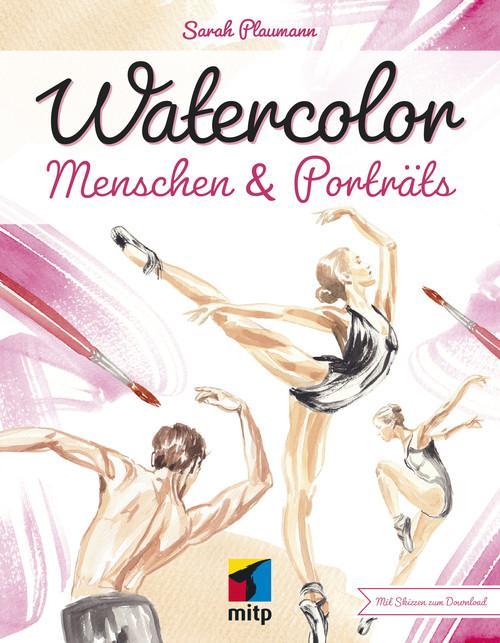 Watercolor Menschen & Porträts als eBook epub