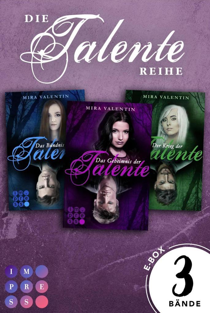 Die Talente: Alle Bände der mitreißend romantischen Serie in einer E-Box! (Die Talente-Reihe) als eBook epub