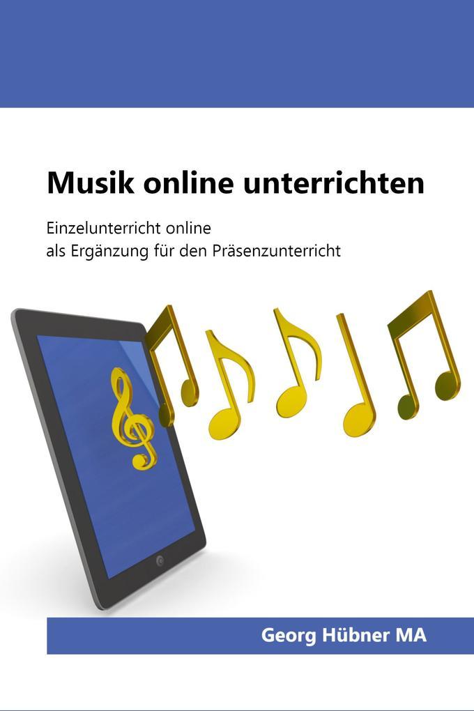 Musik online unterrichten als eBook epub