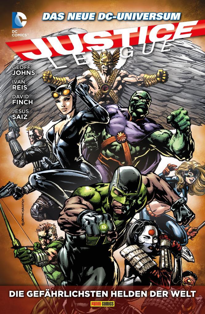 Justice League - Die gefährlichsten Helden der Welt als eBook epub