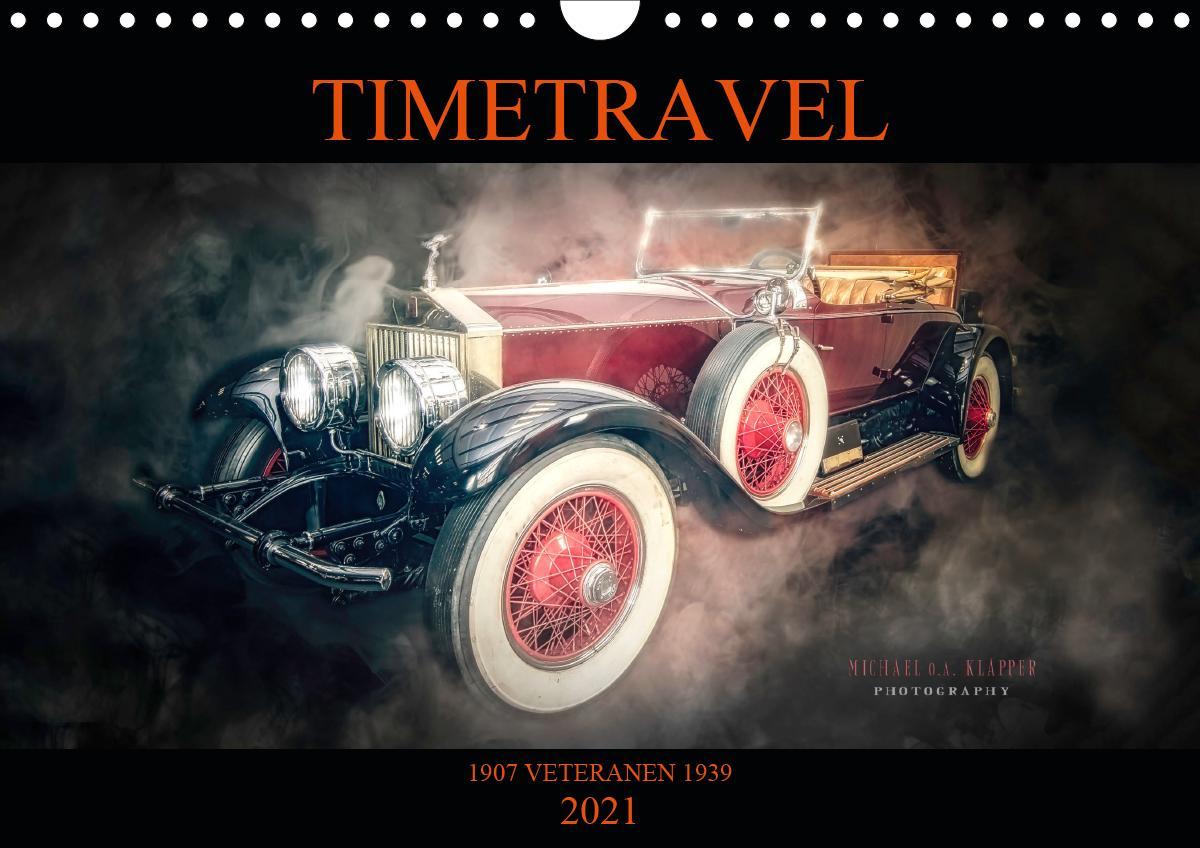 TIMETRAVEL (Wandkalender 2021 DIN A4 quer) als Kalender