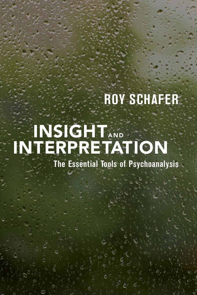 Insight and Interpretation als eBook epub