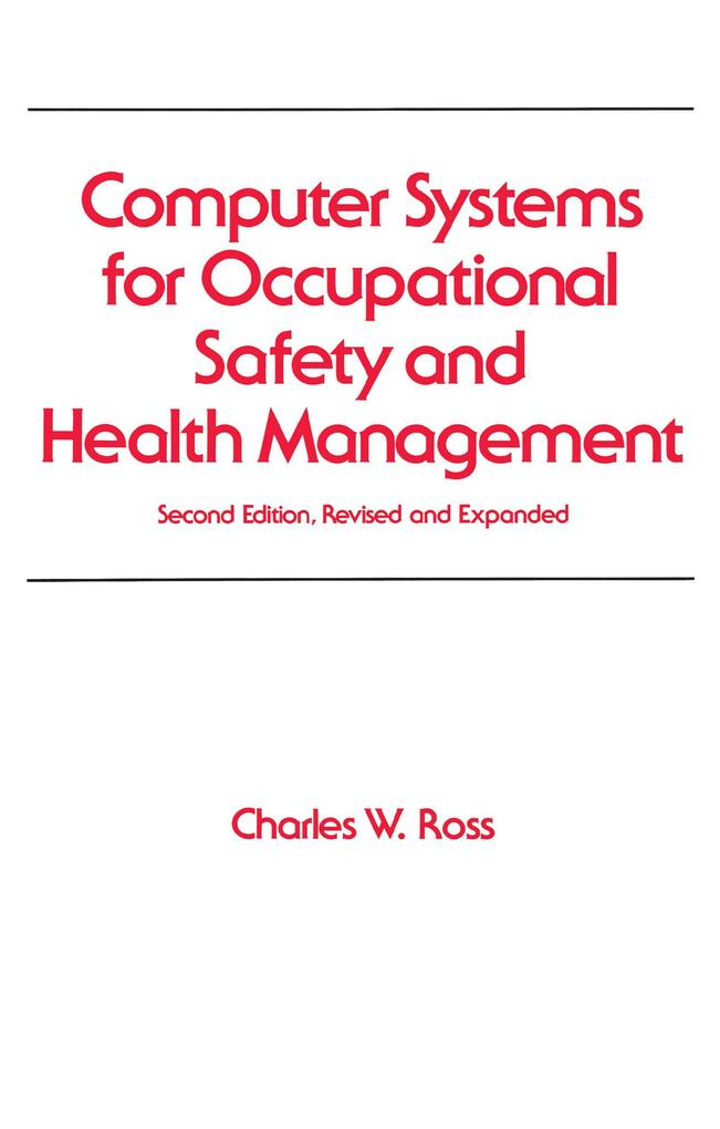 Computer Systems for Occupational Safety and Health Management als eBook epub