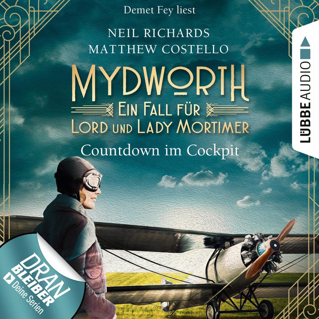 Countdown im Cockpit - Ein Fall für Lord und Lady Mortimer als Hörbuch Download