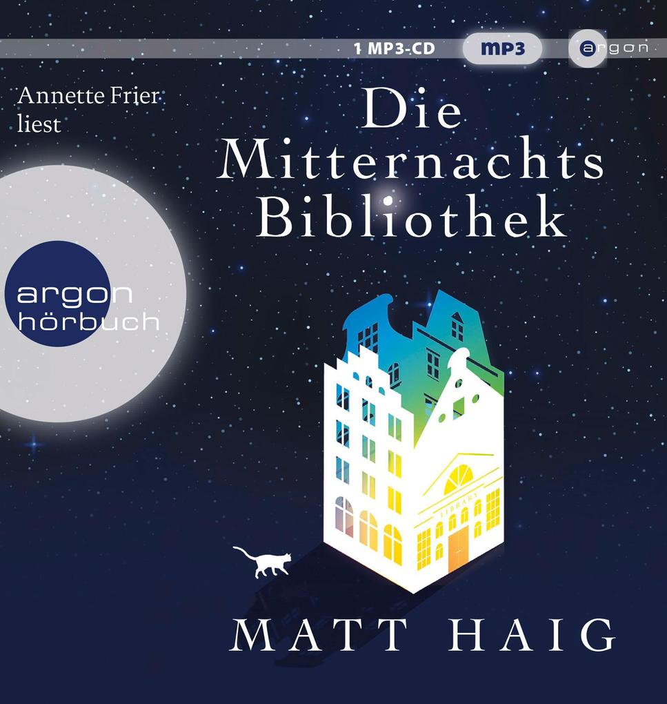 Die Mitternachtsbibliothek als Hörbuch CD