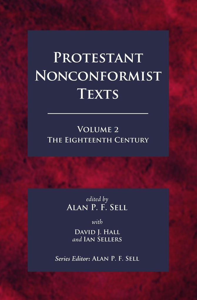 Protestant Nonconformist Texts Volume 2 als eBook pdf