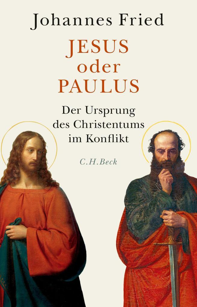 Jesus oder Paulus als Buch (gebunden)