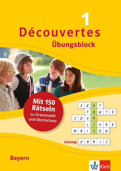 Découvertes 1 Bayern (ab 2017) - Übungsblock zum Schulbuch als Buch (kartoniert)