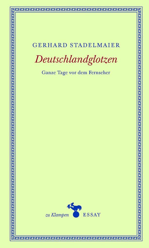Deutschlandglotzen als eBook epub