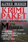 Eine Offenbarung für Mörder: Krimi Paket