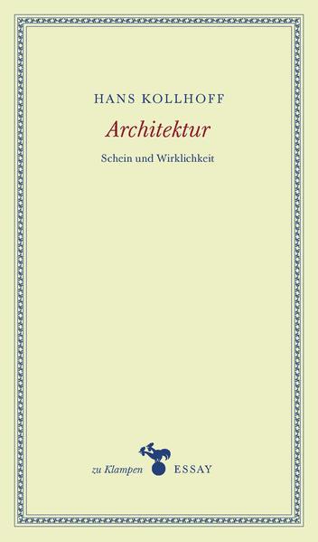 Architektur als Buch (kartoniert)