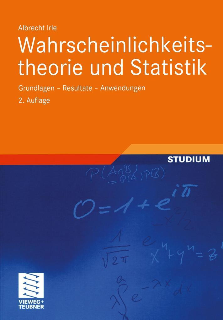 Wahrscheinlichkeitstheorie und Statistik als Buch (kartoniert)
