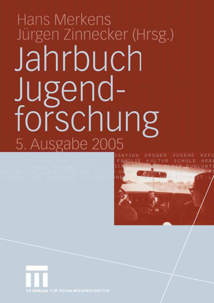 Jahrbuch Jugendforschung 2005 als Buch (kartoniert)