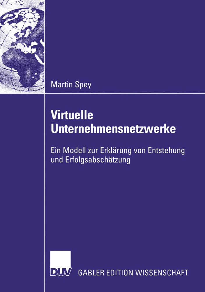 Virtuelle Unternehmensnetzwerke als Buch (kartoniert)