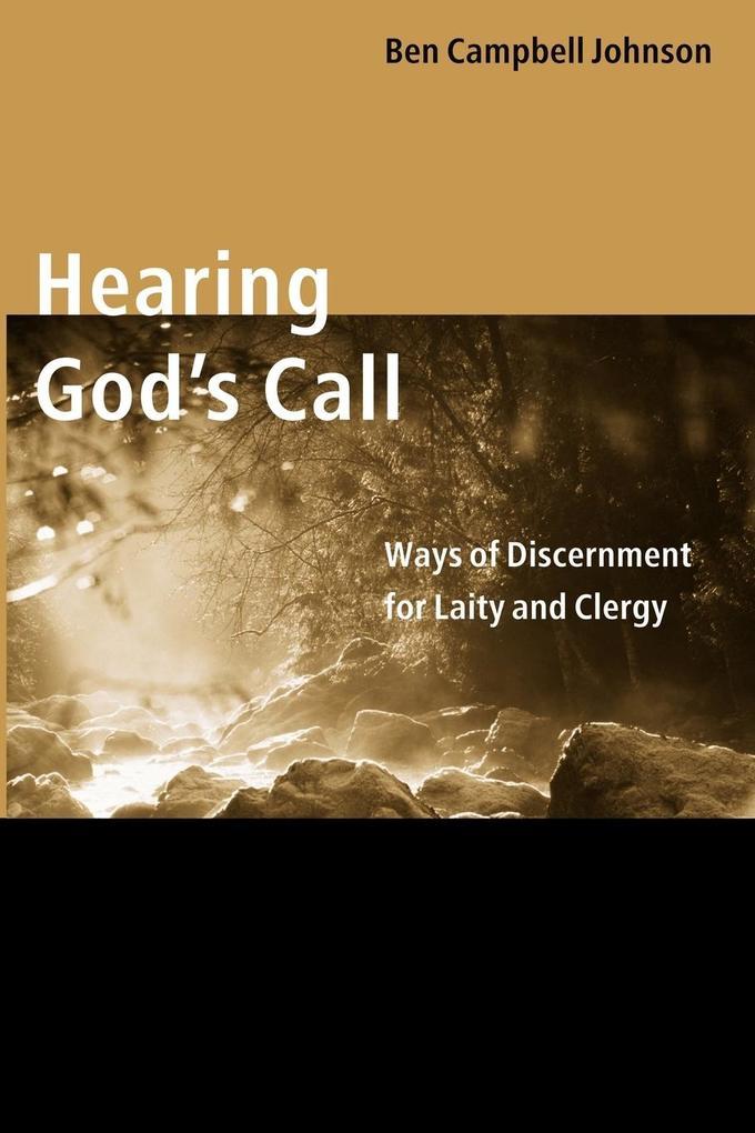 Hearing God's Call als Taschenbuch