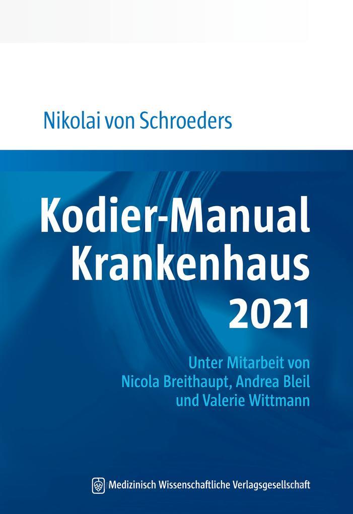 Kodier-Manual Krankenhaus 2021 als eBook pdf