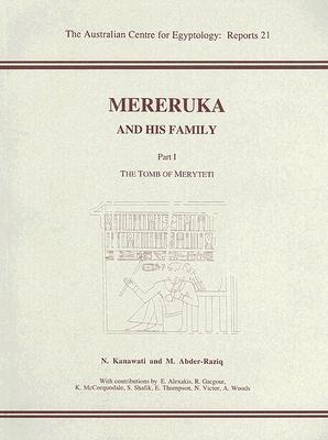 Mereruka and His Family, Part 1 [With CDROM] als Taschenbuch