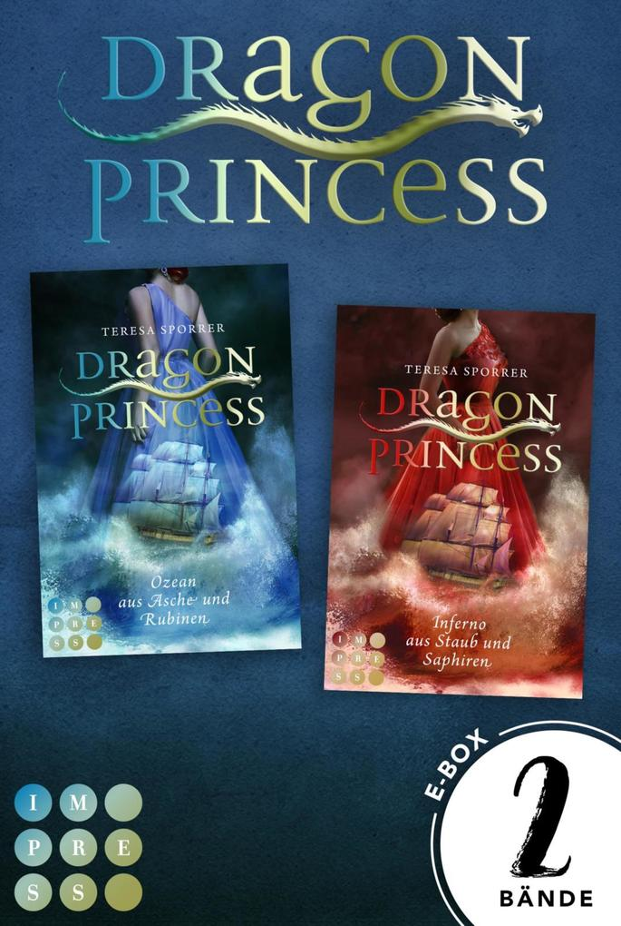 Dragon Princess: Dragon Princess. Sammelband der märchenhaften Fantasy-Serie als eBook epub