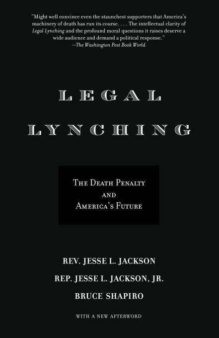 Legal Lynching: The Death Penalty and America's Future als Taschenbuch
