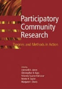 Participatory Community Research: Theories and Methods in Action als Buch (gebunden)