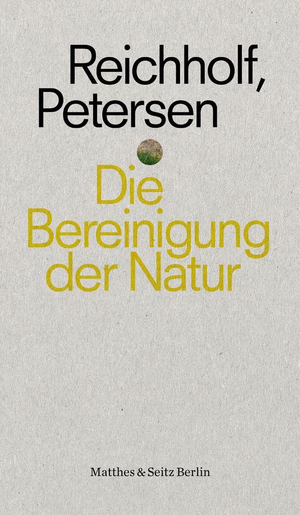 Die Bereinigung der Natur als eBook epub