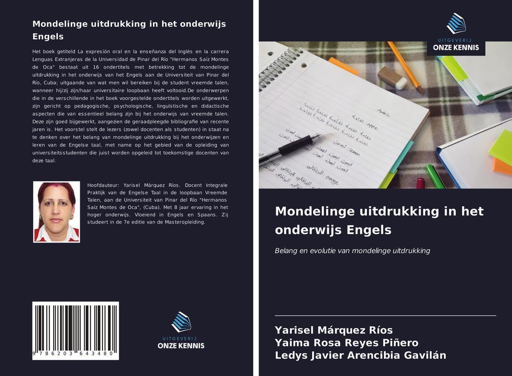 Mondelinge uitdrukking in het onderwijs Engels als Buch (kartoniert)