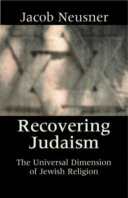 Recovering Judaism als Taschenbuch