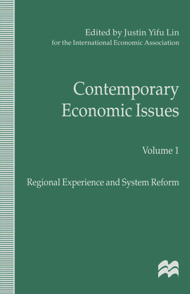 Contemporary Economic Issues als Buch (gebunden)
