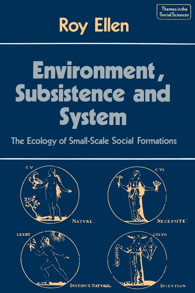 Environment, Subsistence and System als Taschenbuch
