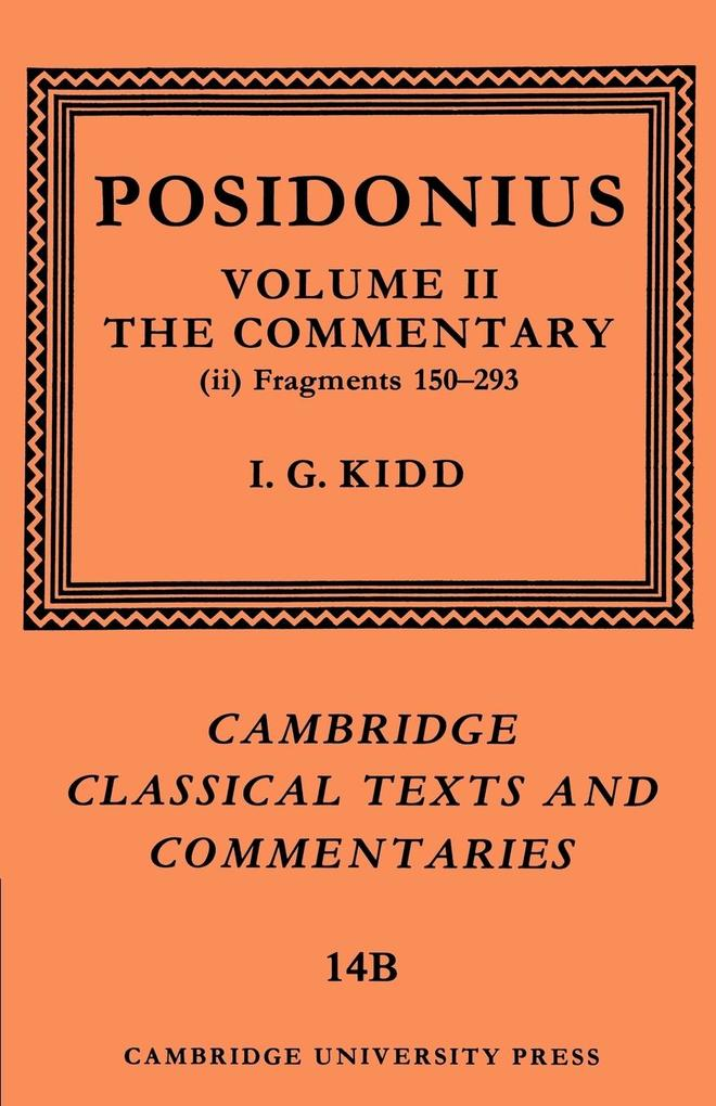 Posidonius als Buch (kartoniert)