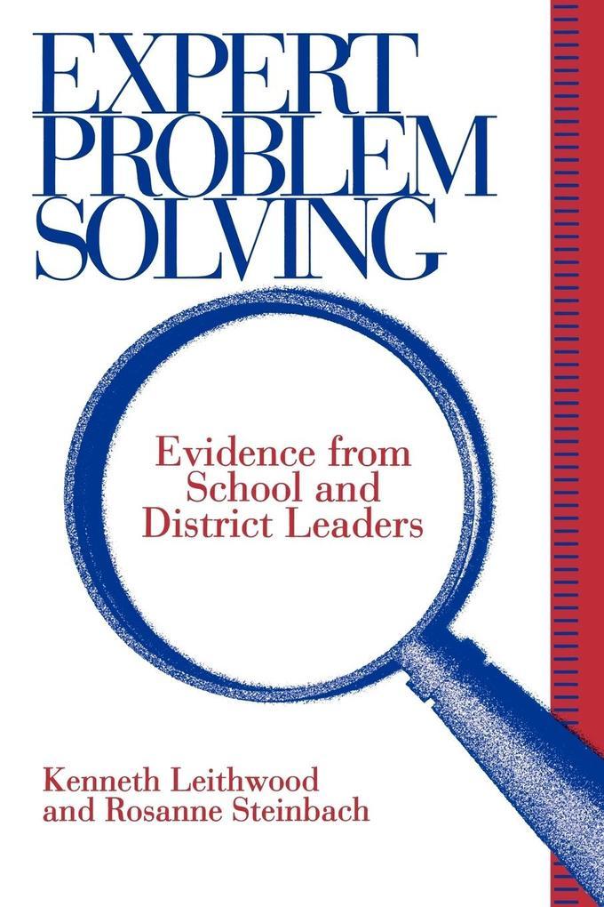 Expert Problem Solving als Taschenbuch