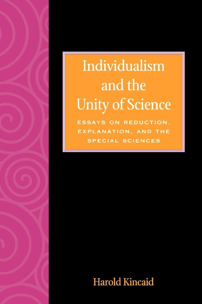 Individualism and the Unity of Science als Taschenbuch