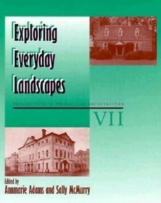 Exploring Everyday Landscapes, Volume 7: Vernacular Architecture Vol VII als Taschenbuch