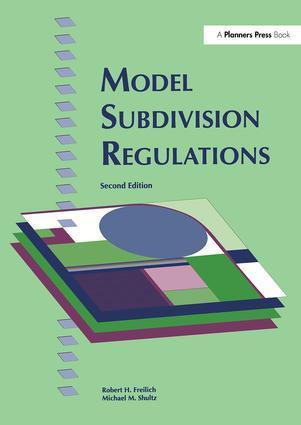 Model Subdivision Regulations als Buch (gebunden)