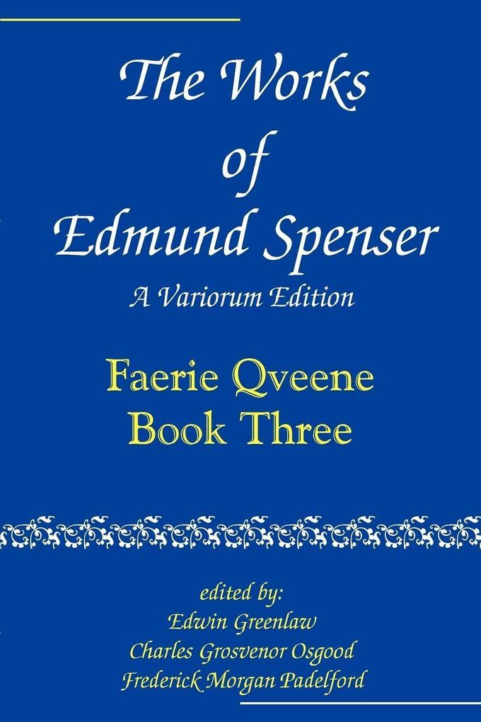 The Faerie Qveene als Taschenbuch