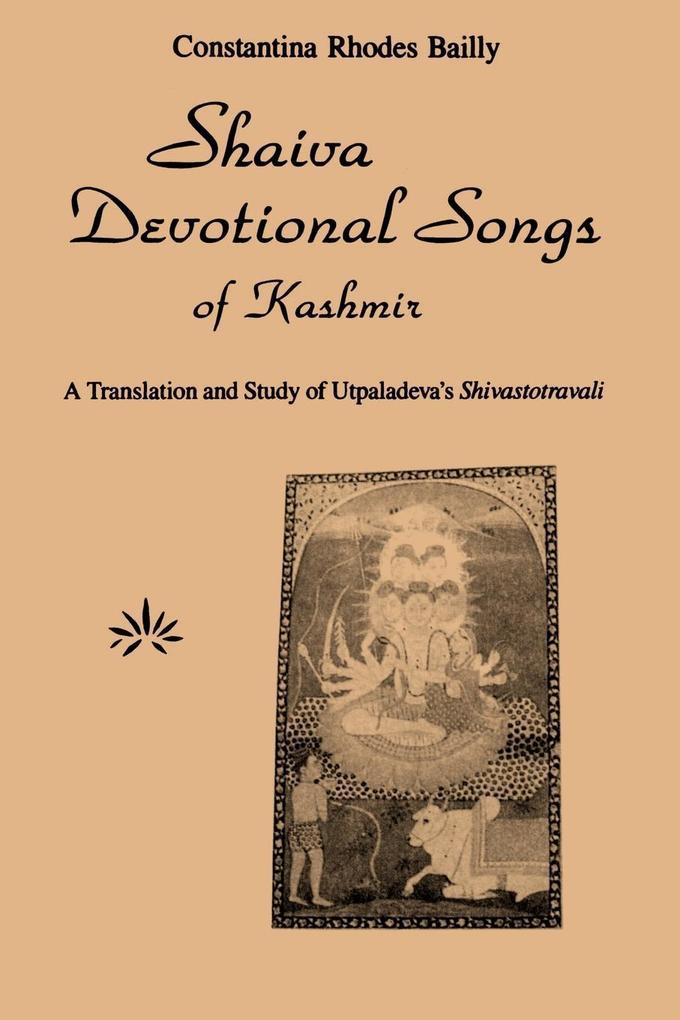 Shaiva Devotional Songs of Kashmir als Taschenbuch