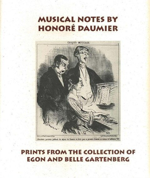 Musical Notes by Honore Daumier als Taschenbuch