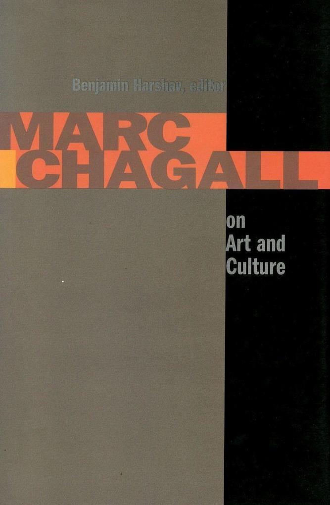 Marc Chagall on Art and Culture als Buch (gebunden)