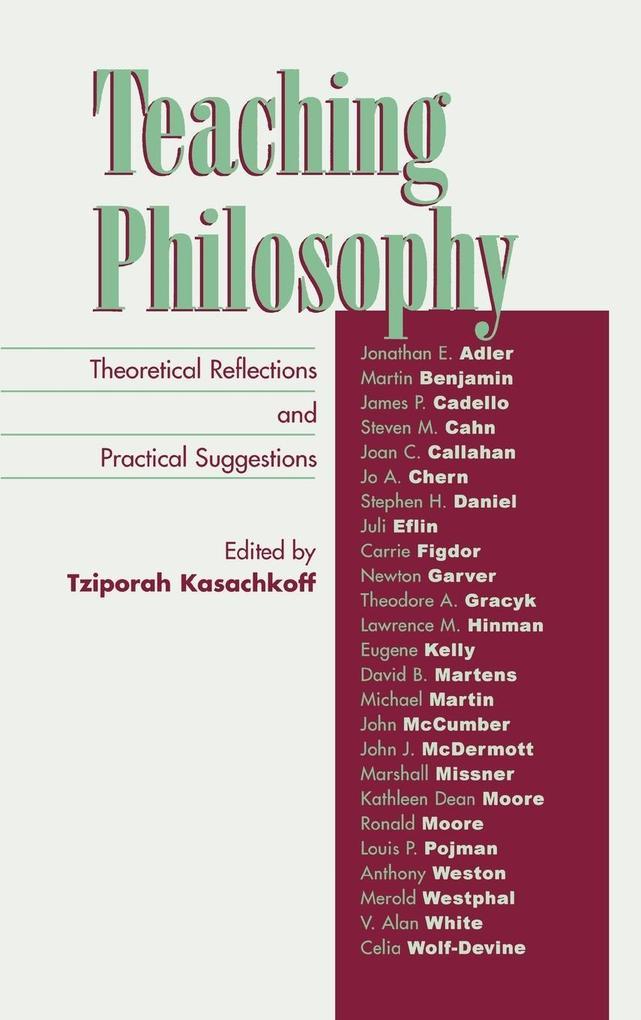 Teaching Philosophy als Buch (gebunden)
