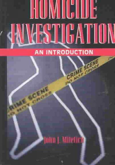 Homicide Investigation: An Introduction als Buch (gebunden)