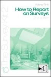 How to Report on Surveys als Taschenbuch
