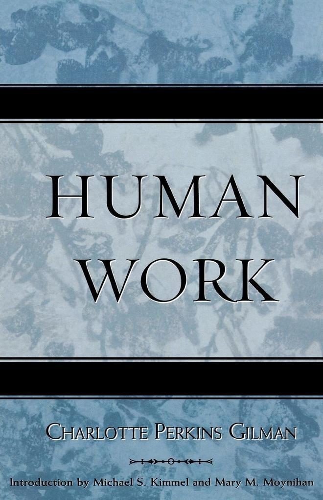 Human Work als Taschenbuch