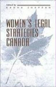 Women's Legal Strategies in Canada als Buch (gebunden)